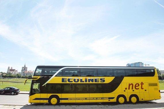 Ecolines nuotr./Autobuso kaina – 1,5 milijono litų