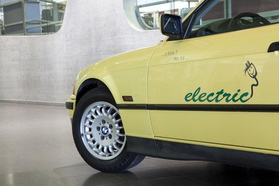 "Gamintojo nuotr./""BMW Electric"""