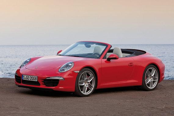 """Gamintojo nuotr./""""Porsche 911 Carrera S Cabriolet"""""""