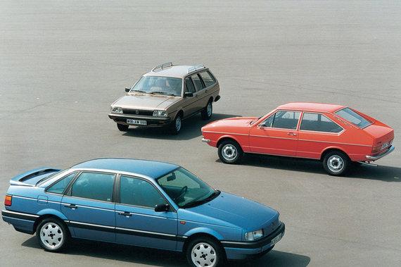 """""""Volkswagen"""" nuotr./""""Volkswagen Passat"""" automobiliai"""