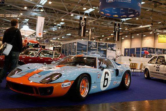 """Lino Bučinsko nuotr./""""Ford GT40"""""""