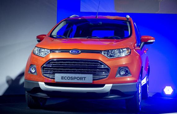 """Scanpix"" nuotr./""Ford EcoSport"""