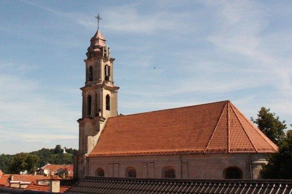 Mato Noreikos/15min nuotr./Švč. Mergelės Marijos Ramintojos bažnyčia