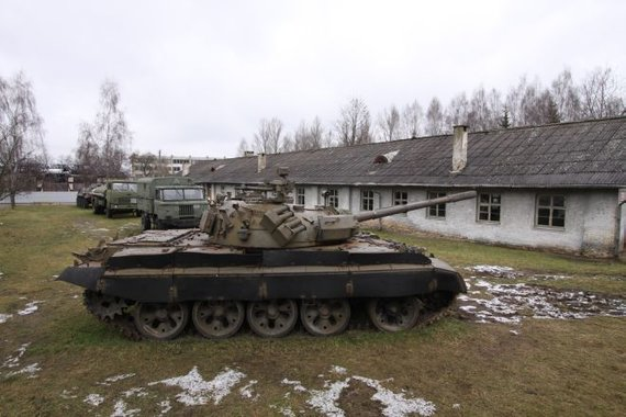 Tomo Digaičio/GAZAS.lt nuotr./Tankas T-72