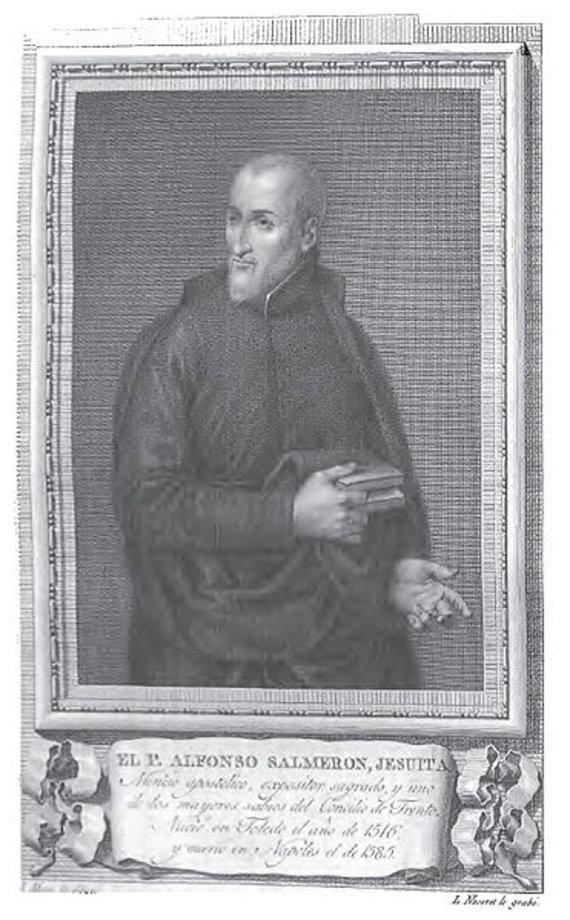 Ispanas jėzuitas Alfonso Salmeronas gyvenimą XVI a. Vilniuje prilygino kankinystei