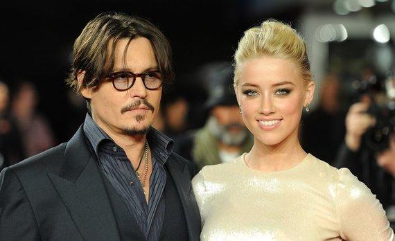 """Scanpix"" nuotr./Johnny Deppas ir Amber Heard"