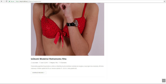 Sexymodels.eu nuotr./Grėsmė internete: nepilnametes kviečia į erotiškas fotosesijas ir žada modelio karjerą