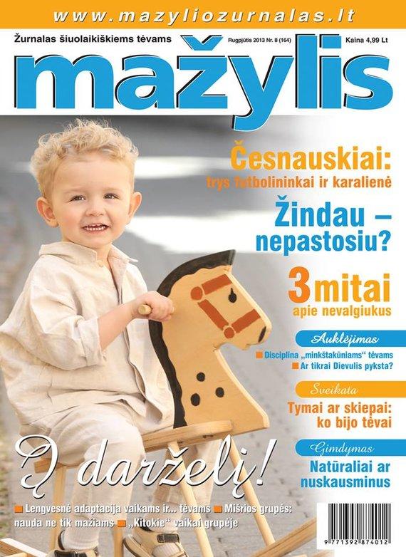 Rūtos Buzienės nuotr./Kajus papuošė žurnalo viršelį