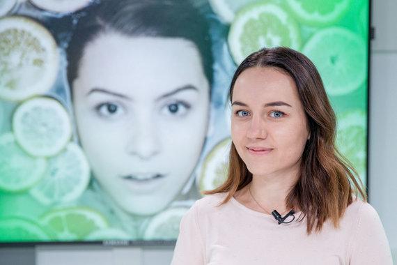 Luko Balandžio / 15min nuotr./15min studijoje – kosmetologė Monika Launikaitytė