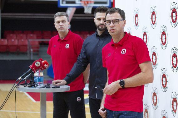 Luko Balandžio / 15min nuotr./Dainius Adomaitis, Linas Kleiza, Darius Gudelis