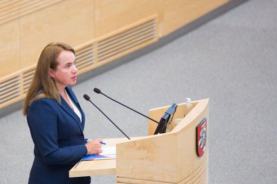 Luko Balandžio / 15min nuotr./Tyrimą savo iniciatyva pradėjo Milda Vainiūtė, laikinai ėjusi Lygių galimybių kontrolierės pareigas