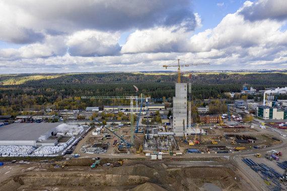 Luko Balandžio / 15min nuotr./Atliekų deginimo jėgainės statybos Vilniuje