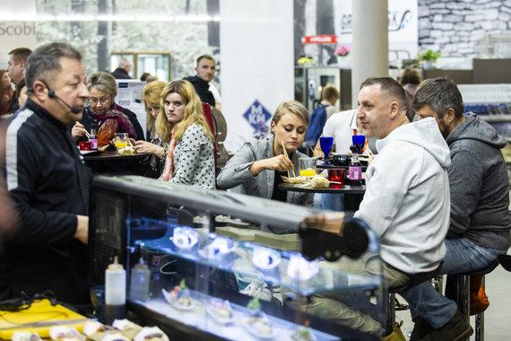 """Luko Balandžio / 15min nuotr./Baltijos maisto ir gėrimų paroda """"BAF"""""""