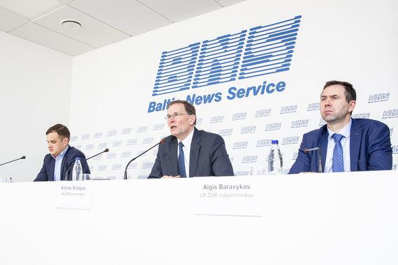 Luko Balandžio / 15min nuotr./Vytautas Buivydas, Arūnas Svitojus, Algis Baravykas