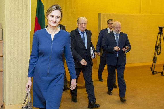 Luko Balandžio / 15min nuotr./Viktorija Čmilytė-Nielsen