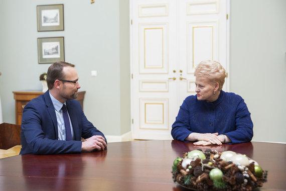 Luko Balandžio / 15min nuotr./Mindaugas Kvietkauskas, Dalia Grybauskaitė