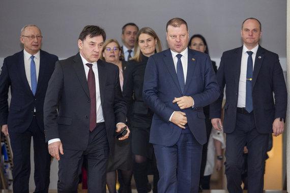 Luko Balandžio / 15min nuotr./Juozas Augutis, Saulius Skvernelis