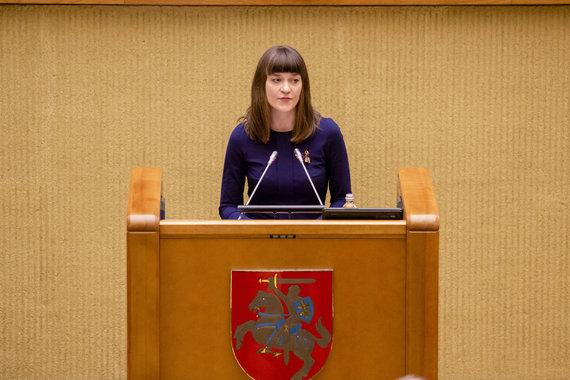 Luko Balandžio / 15min nuotr./Radvilė Morkūnaitė-Mikulėnienė