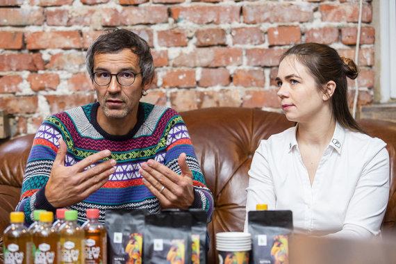 Luko Balandžio / 15min nuotr./Nidas Kiuberis ir Dovilė Baltrukėnienė