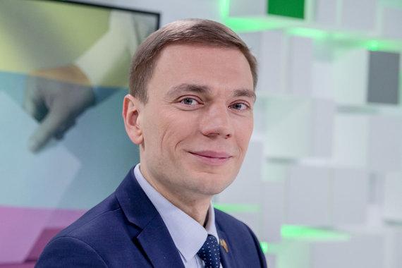 Luko Balandžio / 15min nuotr./15min studijoje – prezidento posto nutaręs siekti Mindaugas Puidokas