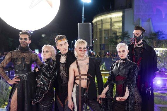 """Luko Balandžio / 15min nuotr./""""Eurovizija"""" atidarymo Tel Avive akimirka"""
