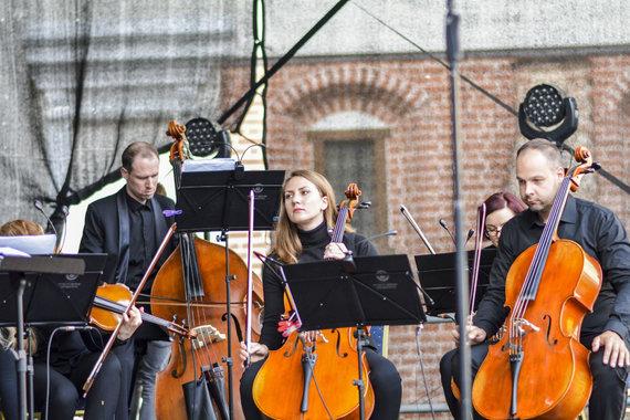 Viktorijos Savickos nuotr./Merūno Vitulskio ir VDU kamerinio orkestro koncertas