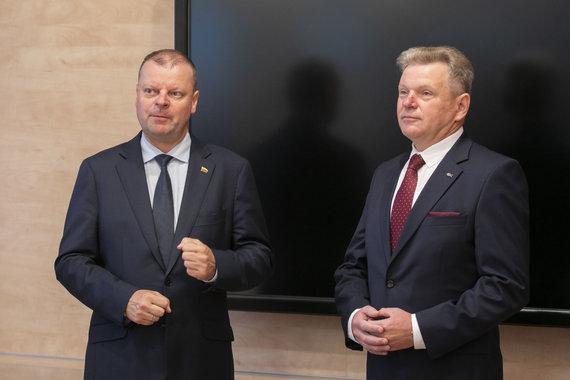 Luko Balandžio / 15min nuotr./Saulius Skvernelis, Jaroslavas Narkevičius