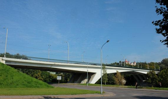 Luko Balandžio nuotr./Žirmūnų tiltas