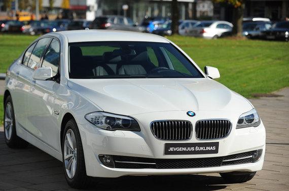 Luko Balandžio nuotr./J.Šuklinui dovanotas BMW automobilis