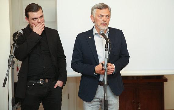Luko Balandžio/Žmonės.lt nuotr./Simonas ir Paulius Jurkevičiai