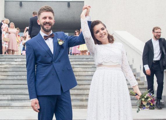 Luko Balandžio / 15min nuotr./Menininkės Jolitos Vaitkutės ir Silvestro Dikčiaus vestuvės