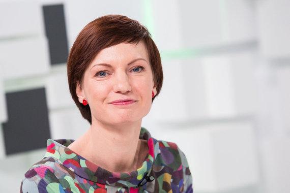 Luko Balandžio / 15min nuotr./15min studijoje — naujai išrinkta LRT generalinė direktorė M.Garbačiauskaitė-Budrienė
