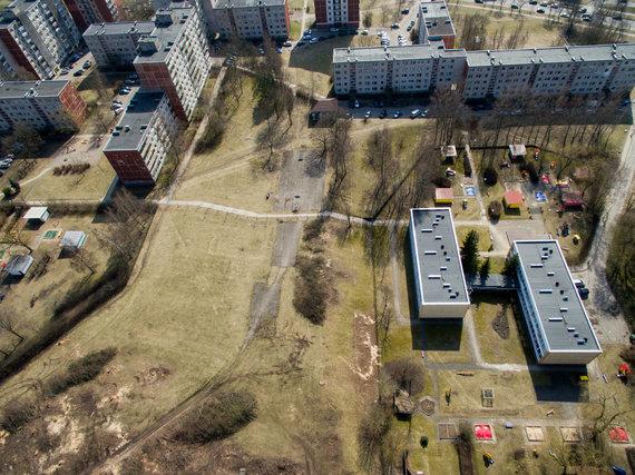 Luko Balandžio / 15min nuotr./Vieta, kur planuojama statyti daugiabučius