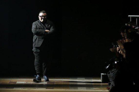 """Scanpix"" nuotr./""Lanvin"" kolekcijos dizaineris Alberas Elbazas"