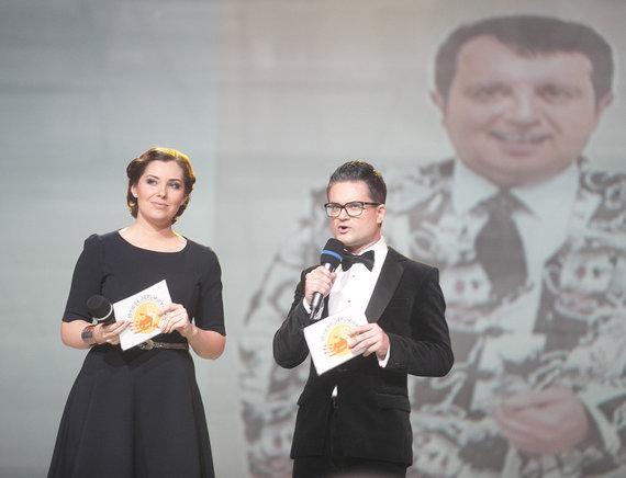 Viganto Ovadnevo/Žmonės.lt nuotr./Edvardas Žičkus ir  Eglė Daugėlaitė