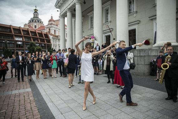 Viganto Ovadnevo/Žmonės.lt nuotr./Ada Jonušė ir Martinas Ebelingas