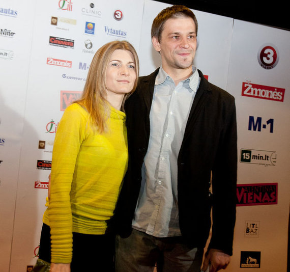 Gretos Skaraitienės/Žmonės.lt nuotr./Donatas Ulvydas su žmona