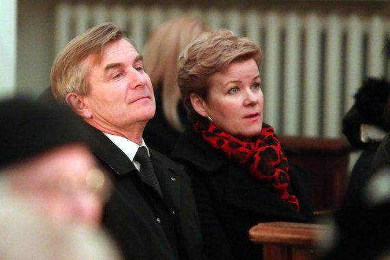 Teodoro Biliūno/Žmonės.lt nuotr./Viktoras Pranckietis su žmona