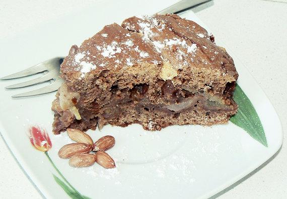 Autorės nuotr./Kriaušių pyragas