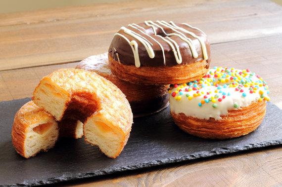 Prancūziško ragelio ir spurgos hibridas - Cronut