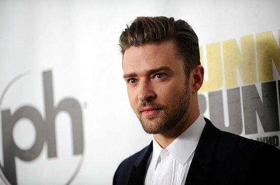 Scanpix nuotr. / Atlikėjas Justinas Timberlake'as