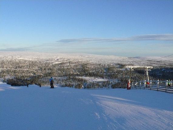 Saleno slidinėjimo kurortas Švedijoje