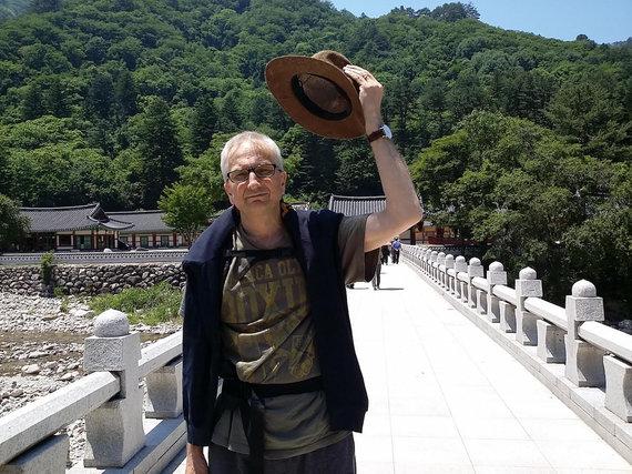 Nuotr. iš asmeninio albumo/Algirdas Kumža Pietų Korėjoje