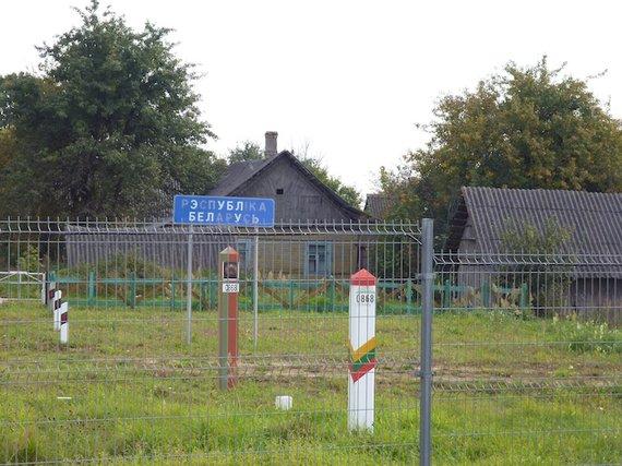Eglės Digrytės nuotr./Lietuvos-Baltarusijos pasienis