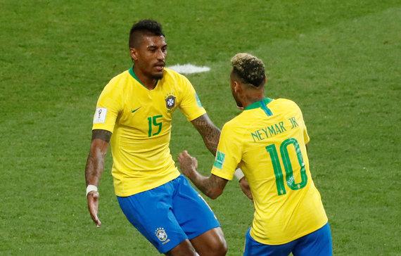 """Scanpix"" nuotr./Paulinho ir Neymaras"