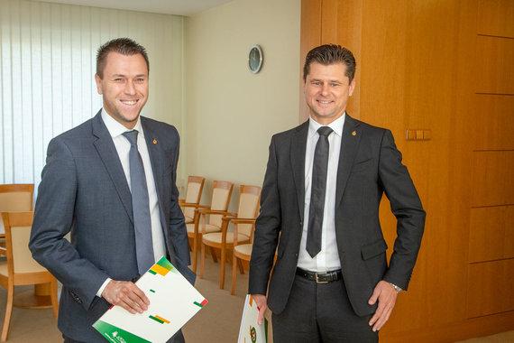 LRVK | Darius Janutis nuotr./Edgaras Stankevičius ir Tomas Danilevičius