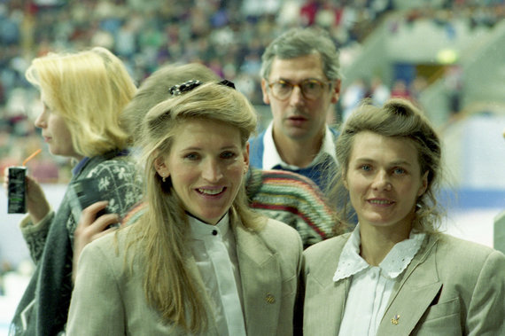 Alfredo Pliadžio nuotr./ Vida Vencienė (kairėje) ir Kazimiera Strolienė