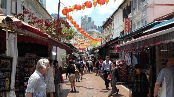 V.Mikaičio nuotr./Singapūro Chinatown
