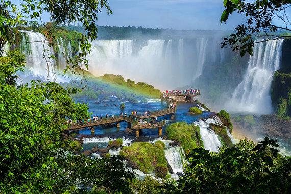 Shutterstock.com nuotr./Igvasu krioklys, Argentina ir Brazilija