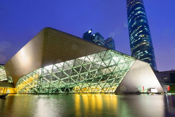 Shutterstock.com nuotr./Guangdžou operos rūmai, Guangdžou